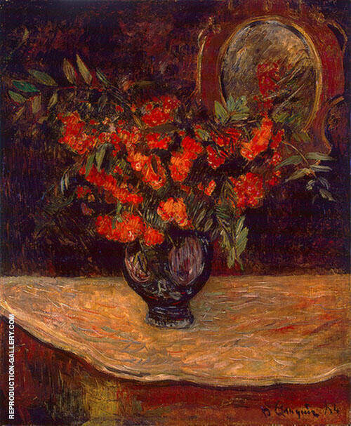 Bouquet 1884 By Paul Gauguin