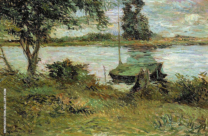 Banks of the Oise 1881 By Paul Gauguin