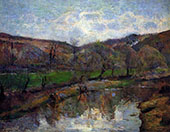 Aven Valley Upstream of Pont Aven 1888 By Paul Gauguin