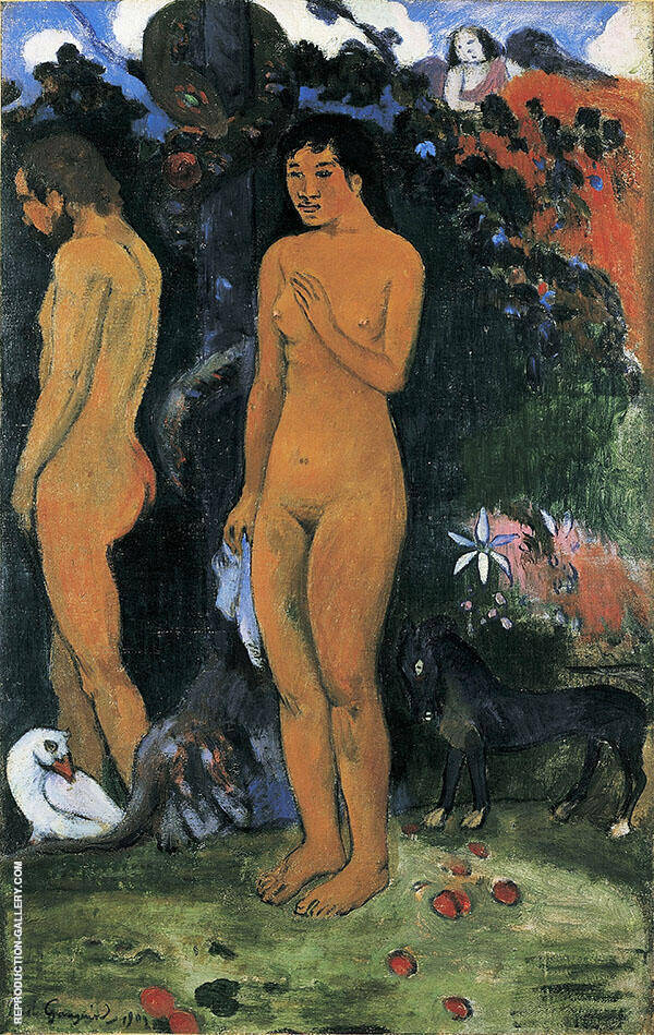 Adam and Eve By Paul Gauguin