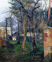 Abandoned Garden Rouen 1884 By Paul Gauguin