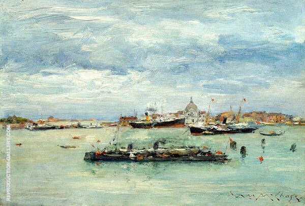 Gray Day on The Lagoon 1877 By William Merritt Chase