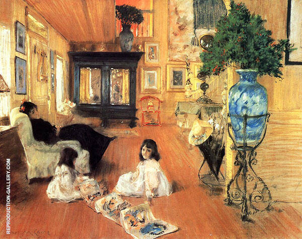 Hall at Shinnecock By William Merritt Chase
