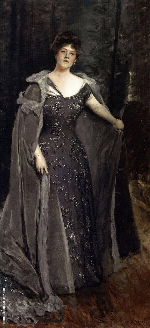 Hilda Spong By William Merritt Chase