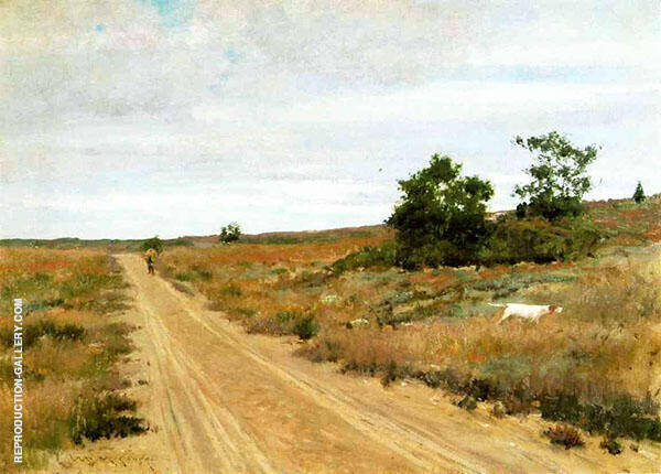 Hunting Game in Shinnecock Hills By William Merritt Chase