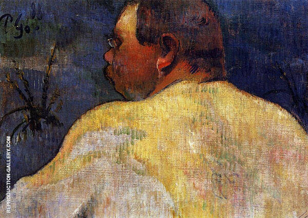 Captain Jacob 1888 By Paul Gauguin