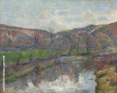 Brittany Landscape 1888 By Paul Gauguin