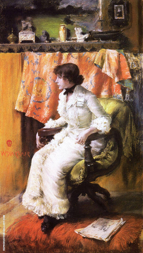 In The Studio 1884 By William Merritt Chase