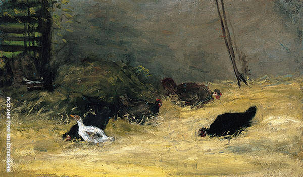 Chicken Coup 1875 By Paul Gauguin