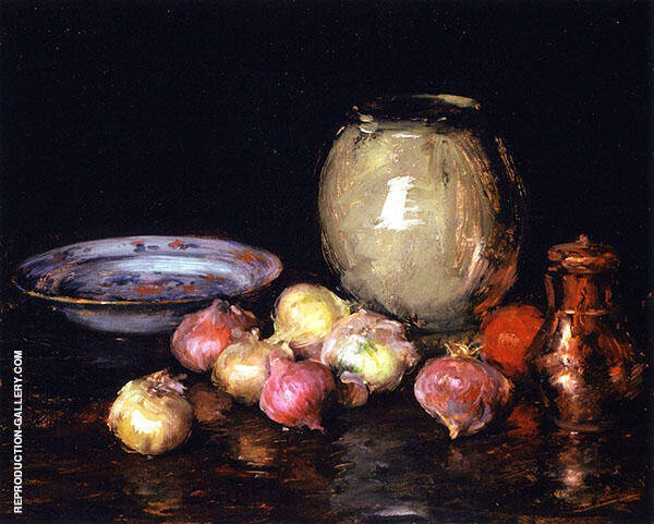 Just Onions By William Merritt Chase