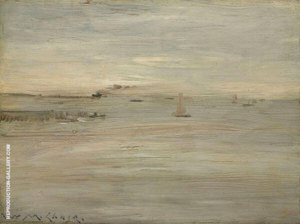 Marine c1888 By William Merritt Chase