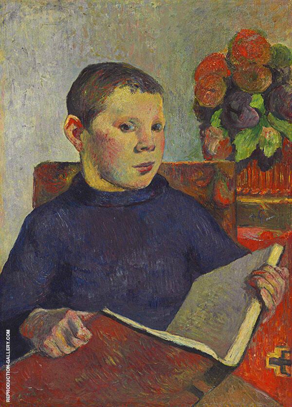 Clovis 1886 By Paul Gauguin
