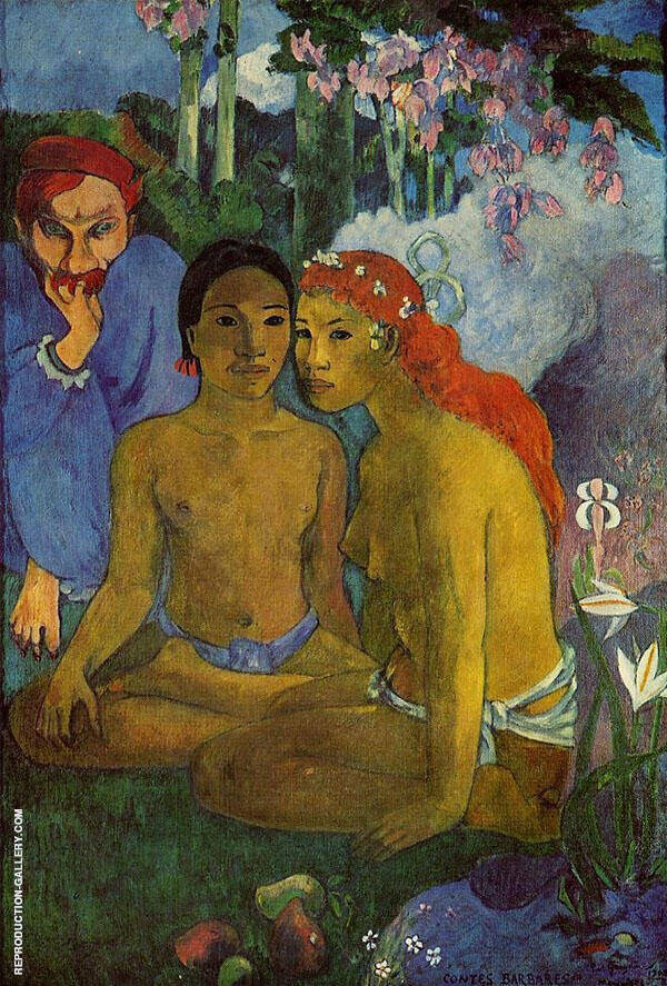 Primitive Tales Contes Barbares 1902 By Paul Gauguin