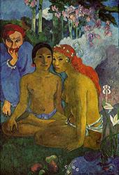 Primitive Tales Contes Barbares 1902 By Paul Gauguin
