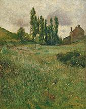 Dogs Running Through a Field 1888 By Paul Gauguin