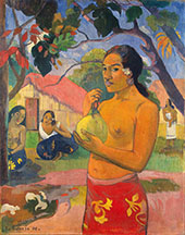 Where Are You Going, Ea Haere ls Oe 1893 By Paul Gauguin