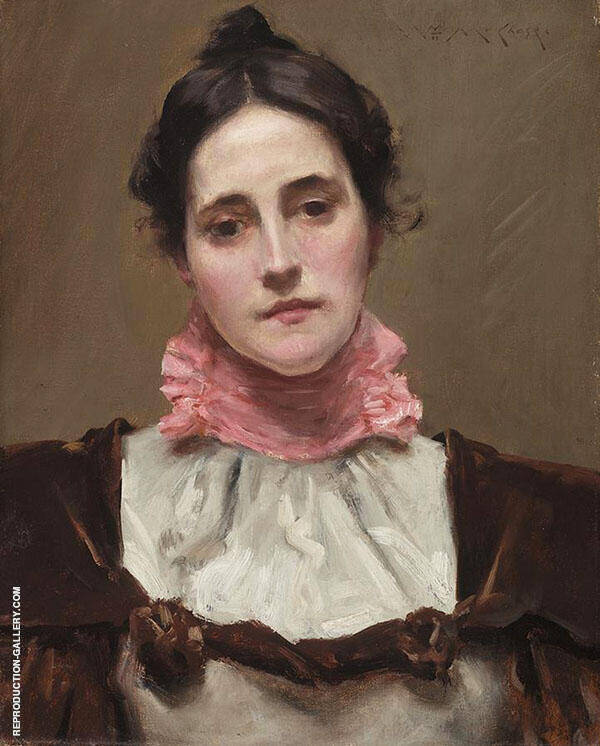 Mrs Wm M Chase Painting By William Merritt Chase - Reproduction Gallery