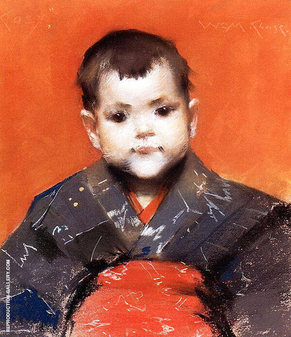 My Baby Painting By William Merritt Chase - Reproduction Gallery