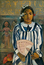 The Ancestors of Tehama Merahi By Paul Gauguin