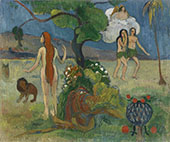 Adam and Eve Paradise Lost c1890 By Paul Gauguin
