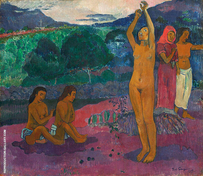 The Invocation 1903 By Paul Gauguin