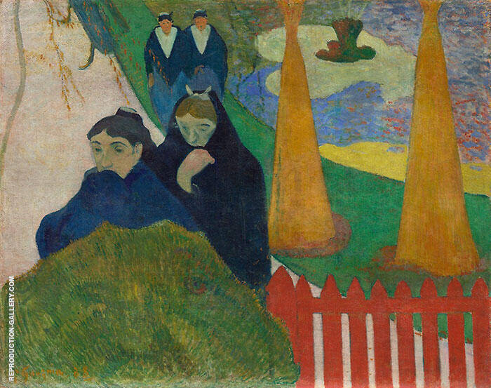 Arlesiennes Mistral 1899 By Paul Gauguin