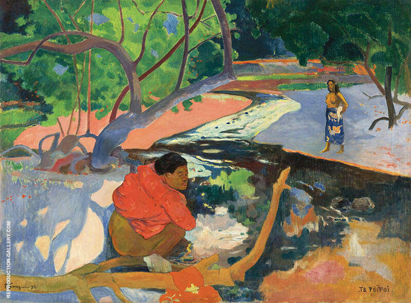Le Matin, Te Poi Poi 1892 By Paul Gauguin