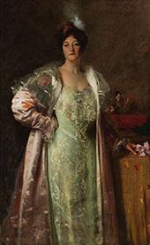 Portrait of Miss J 1902 By William Merritt Chase