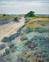 Rest by The Wayside By William Merritt Chase