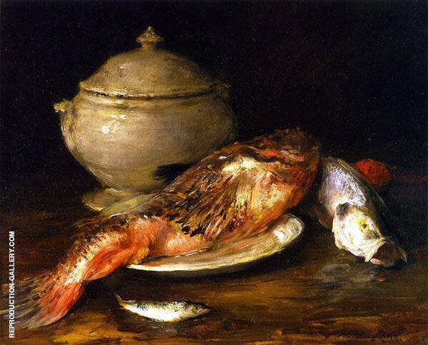 Still LIfe Painting By William Merritt Chase - Reproduction Gallery