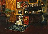 Studio Interior c1882 By William Merritt Chase
