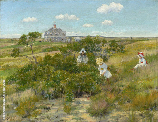 The Bayberry Bush By William Merritt Chase