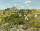 The Bayberry Bush By William Merritt Chase