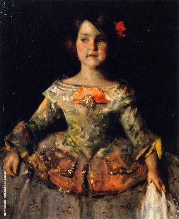 The Infanta 1899 Painting By William Merritt Chase - Reproduction Gallery