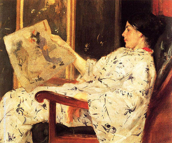 The Japanese Print By William Merritt Chase