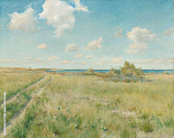 The Old Road to The Sea 1893 Painting By William Merritt Chase