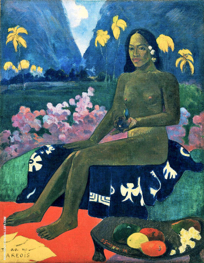 The Seed of the Areoi 1892 By Paul Gauguin