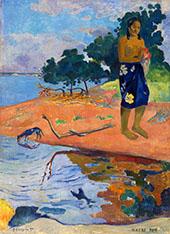 Haere Pape 1892 By Paul Gauguin