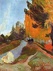 Les Alycamps 1888 By Paul Gauguin
