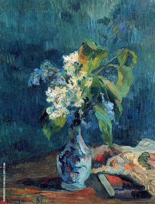 Lilac Bouquet 1885 By Paul Gauguin