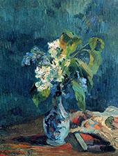 Lilac Bouquet 1885 By Paul Gauguin