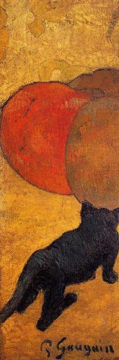 Little Cat 1888 By Paul Gauguin