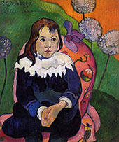 Mr LouLou 1890 By Paul Gauguin