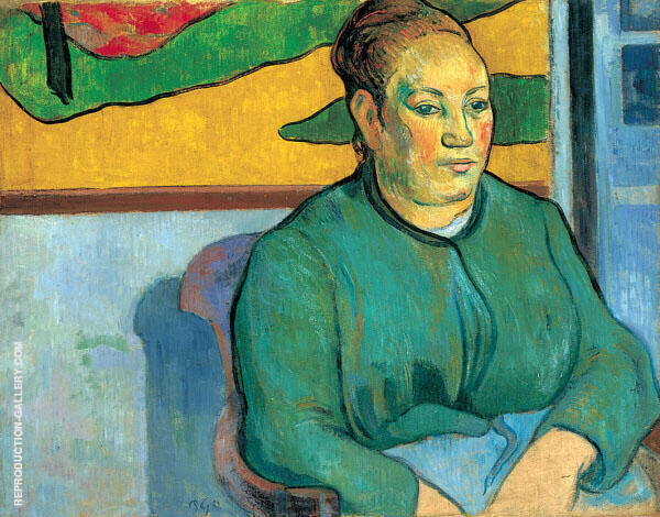 Madame Roulin 1888 By Paul Gauguin