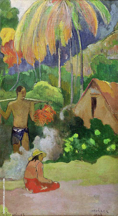 Moment of Truth Mahana Maa II 1892 By Paul Gauguin