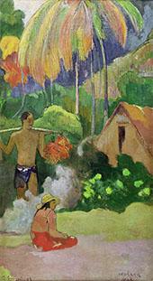Moment of Truth Mahana Maa II 1892 By Paul Gauguin