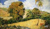 Meadow in Martinque 1887 By Paul Gauguin