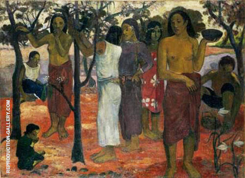 Delightful Day, Nave Nave Mahana 1896 By Paul Gauguin