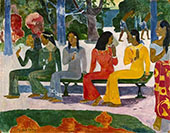 We Shall Not Go To Market,Ta Matete 1892 By Paul Gauguin
