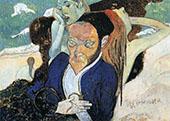 Nirvana, Portrait of Meyer de Haan 1890 By Paul Gauguin